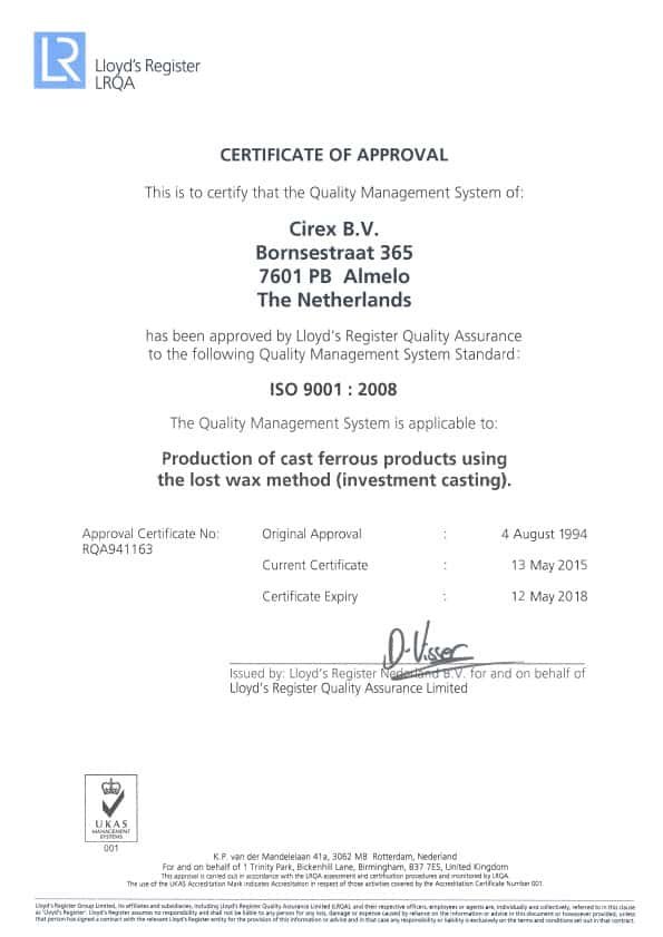 CIREX ISO 9001