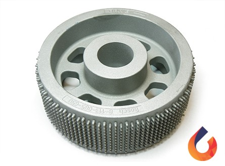 Transport wheel investement casting